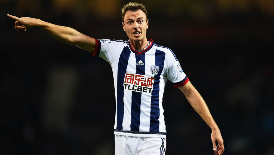 West Bromwich Albion Reject £18m Bid From Manchester City for Defender Jonny Evans