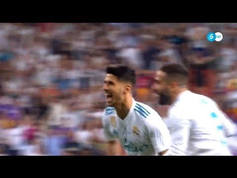 Marco Asensio Amazing Goal - Real Madrid vs Barcelona 1-0 Spanish Super Cup 16/08/2017