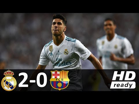Real Madrid vs Barcelona 2-0 - All Goals & Highlights - 16/08/2017 HD