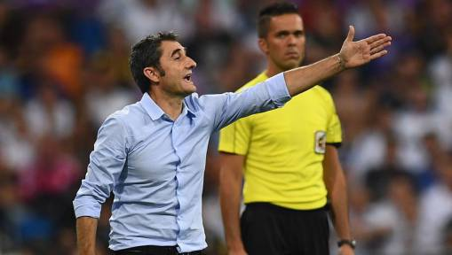 Barcelona Boss Ernesto Valverde Admits Real Madrid Were 'Better Than Us' After Super Cup Defeat