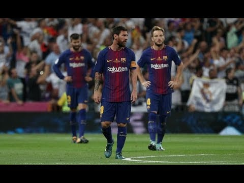 Video: Watch the Annihilation of Barcelona by Real Madrid (5-1) -  Super Cup 2017 - All Goals