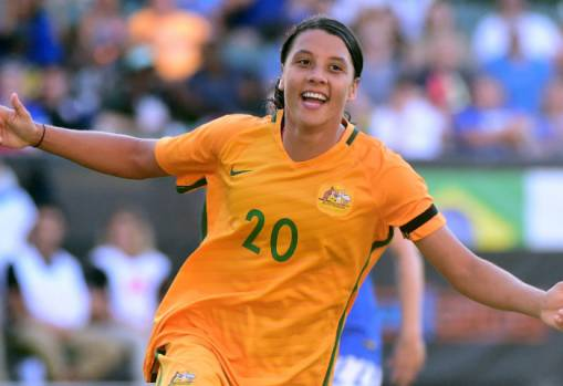 Sam Kerr in the running for The Best FIFA Women's Player Award