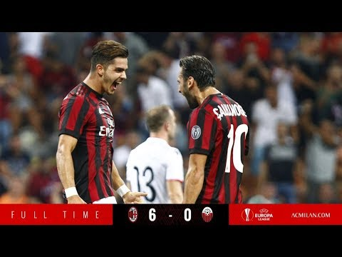 AC Milan vs Shkendija 6-0 | Highlights & All Goals | UEFA Europa League 2017/2018