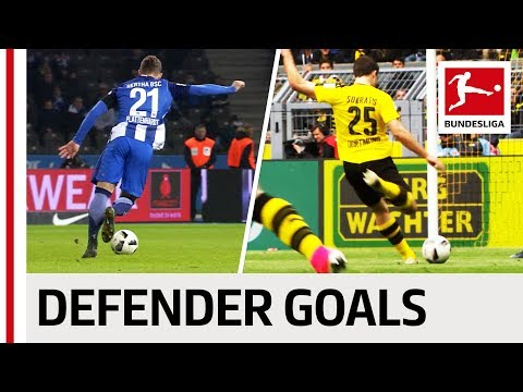 Top 10 Defender Goals 2016/17 Season - Rockets and Wonder Goals from Sokratis, Alaba, Süle & Co.