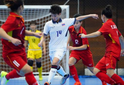 SEA Games 2017 Women's Futsal: Vietnam 1-3 Thailand