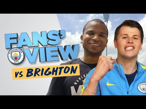 FANS' VIEW | Brighton 0-2 Man City | 2017/18