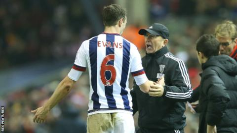 West Brom 'don't need to sell Evans'