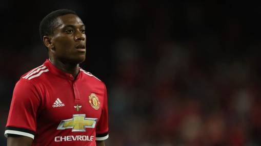 Mou expects Man Utd's Martial to improve