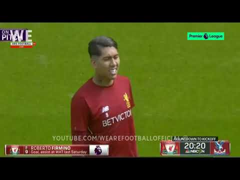 LIVERPOOL VS CRYSTAL PALACE | KICKOFF LIVE | ON THE PITCH | Sturridge, Mane & Firmino
