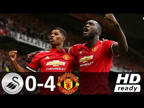 Swansea vs Manchester United 0-4 - All Goals & Highlights - 19/08/2017 HD
