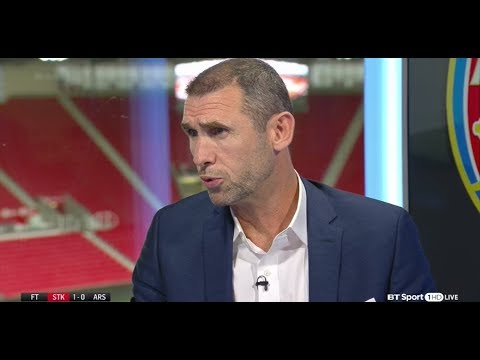 Reaction to Arsenals 1-0 loss to Stoke - 19-08-2017 - BT Sport