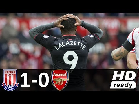 Stoke City vs Arsenal 1-0 - Goal & Highlights - 19/08/2017 HD