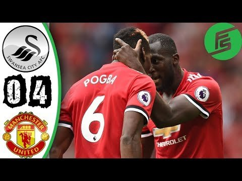 Swansea vs Manchester United 0-4 - Highlights & Goals - 19 August 2017