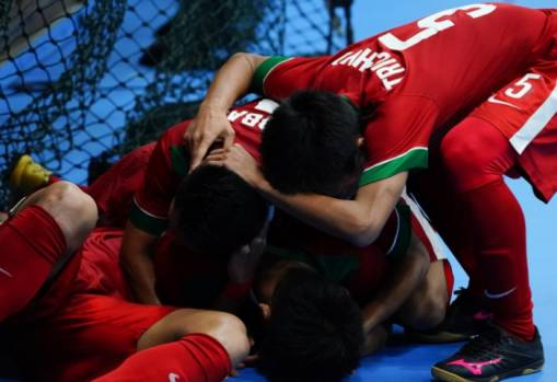 Indonesia shock Thailand in KL 2017 SEA Games Men's Futsal