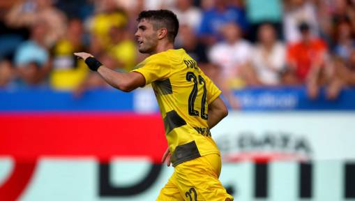 Christian Pulisic Says He Is 'Very Happy' at Borussia Dortmund Amid Reported Liverpool Interest