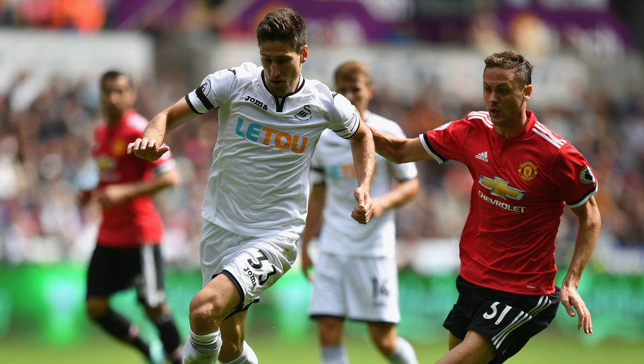 Swansea's Stand in Skipper Federico Fernandez Says There's 'No Excuses' for 'Harsh' 4-0 United Loss