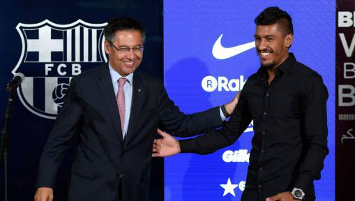 PHOTO: Barcelona New Boy Paulinho Did the Dirty After Old 'Pro-Real Madrid' Tweet Surfaces Online