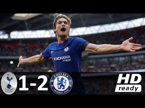 Tottenham vs Chelsea 1-2 - All Goals & Highlights - 20/08/2017 HD