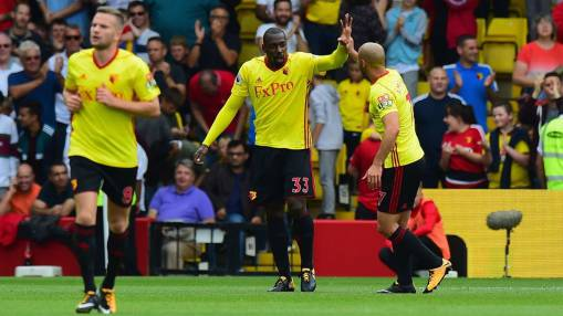 Stefano Okaka could consider Watford future with reduced role - sources