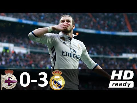 Deportivo vs Real Madrid 0-3 - All Goals & Highlights - La Liga 20/08/2017 HD