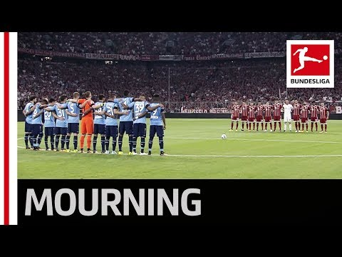 The Bundesliga Mourns the Victims of Barcelona