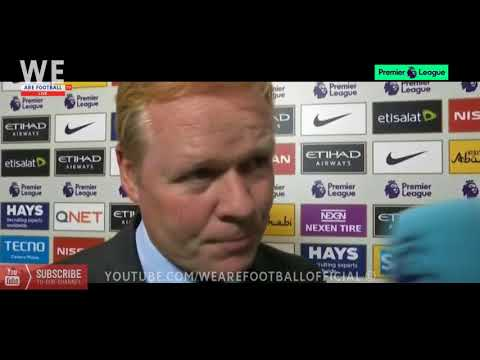 Manchester City vs Everton 1-1 | Ronald Koeman Post-Match Intvetview
