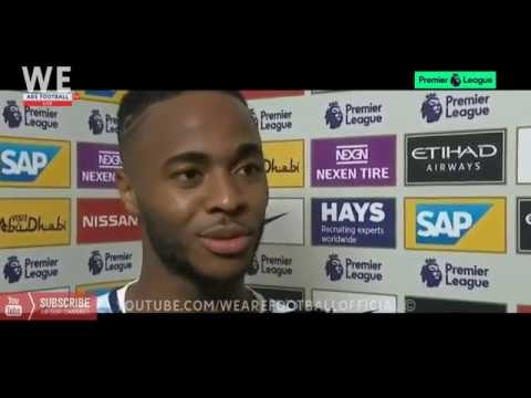 Manchester City vs Everton 1-1 | Raheem Sterling Post-Match Intvetview