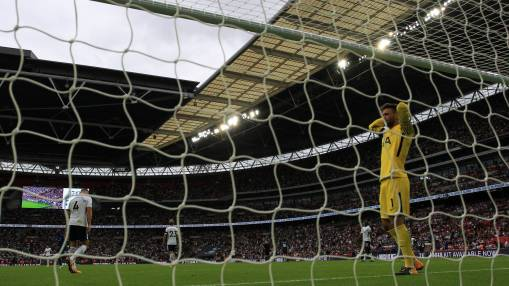 Spurs could face more Wembley woe - Courtois