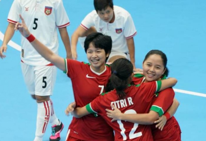 Indonesia continue to sizzle in KL 2017 SEA Games Women's Futsal
