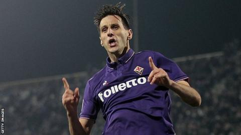 Nikola Kalinic: AC Milan sign striker from Fiorentina
