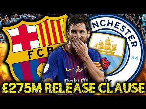 Manchester City To Trigger Lionel Messi's £275M Release Clause! | Transfer Review