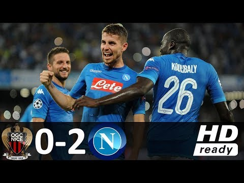 Nice vs Napoli 0-2 - All Goals & Highlights - 22/08/2017 HD