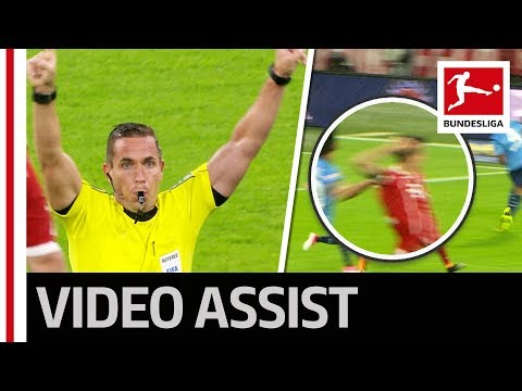 Historic Moment - First VAR Review in the Bundesliga