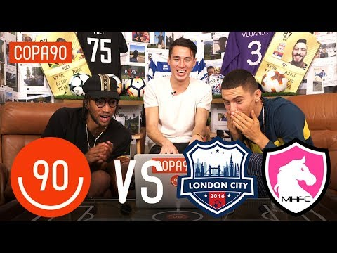 Copa90 FC vs London City & Mongolian Horses FC! | Next Level Football League