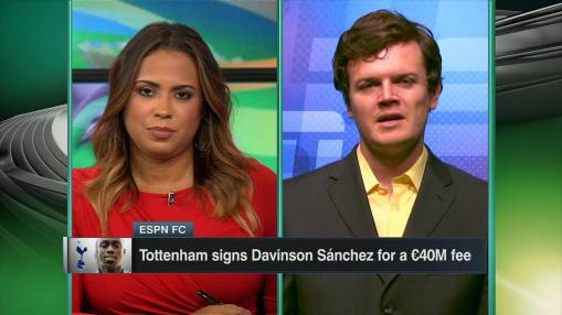 Spurs announce Sanchez signing from Ajax