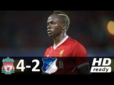 Liverpool vs Hoffenheim 4-2 - All Goals & Highlights - 23/08/2017 HD