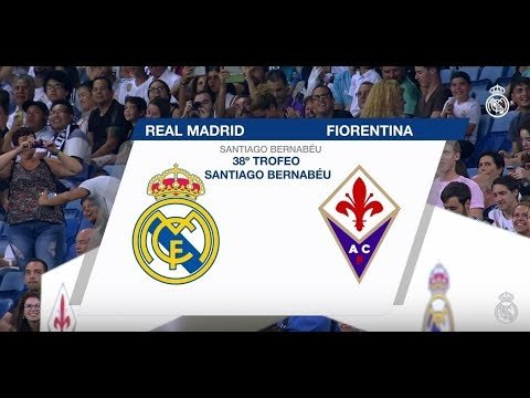 REAL MADRID 2-1 FIORENTINA | Highlights (38th Santiago Bernabéu Trophy)