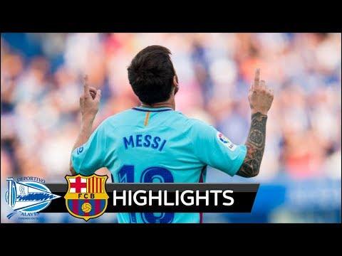Alaves Vs Barcelona 0 2 All Goals Extended Highlights La Liga