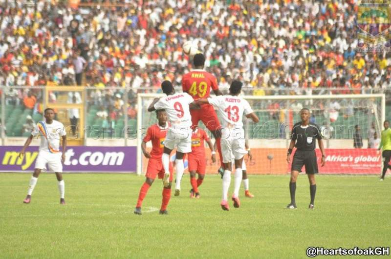 Video: Watch Highlights of pulsating 1-1 stalemate between Asante Kotoko and Hearts of Oak