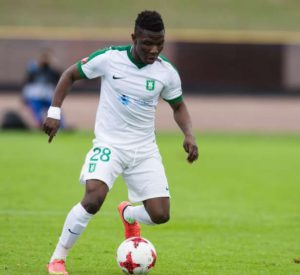Sleek-forward Issah Abass scores brace as NK Olimpija Ljubljana see off HJK Helsinki in Europa League