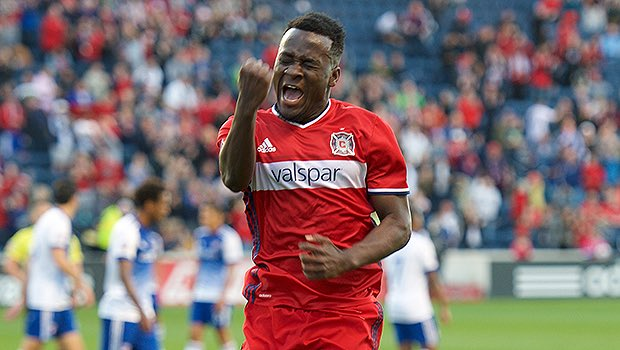 Ghana forward David Accam extends Chicago Fire contract despite interest from West Ham