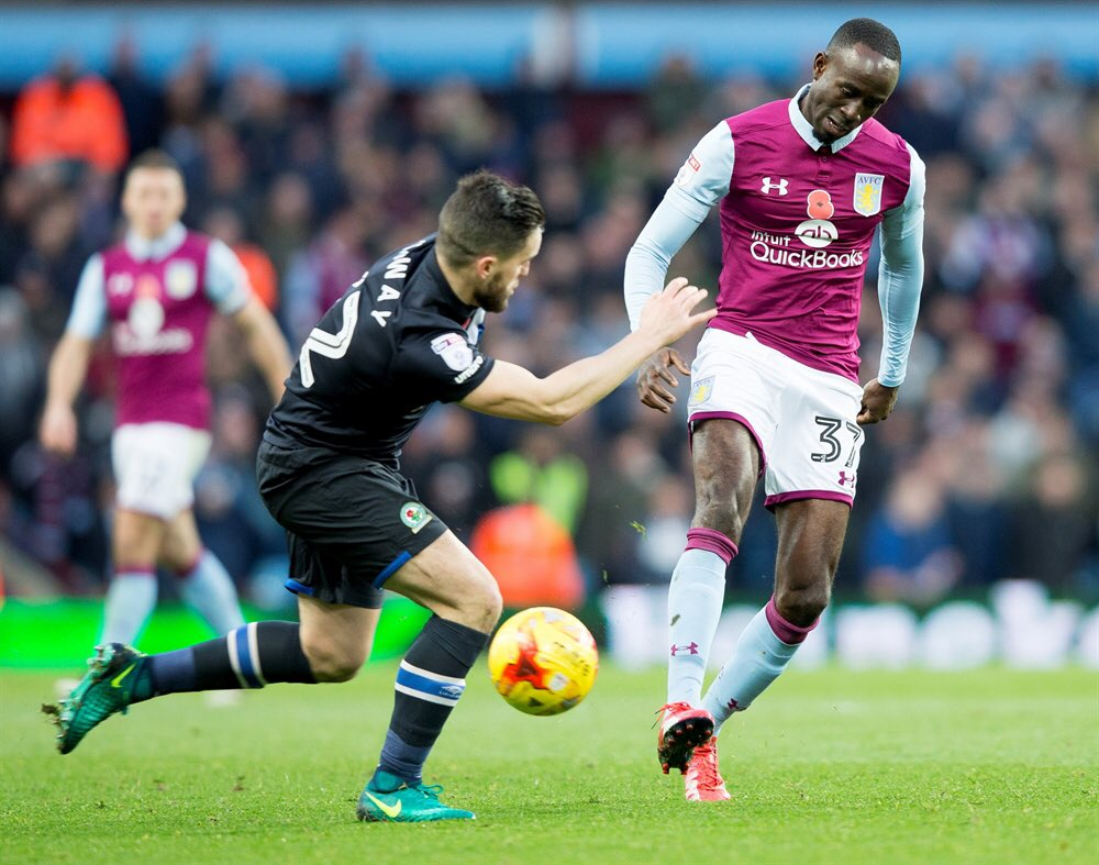 Ghana winger Albert Adomah features in Aston Villa in heavy defeat against Cardiff City