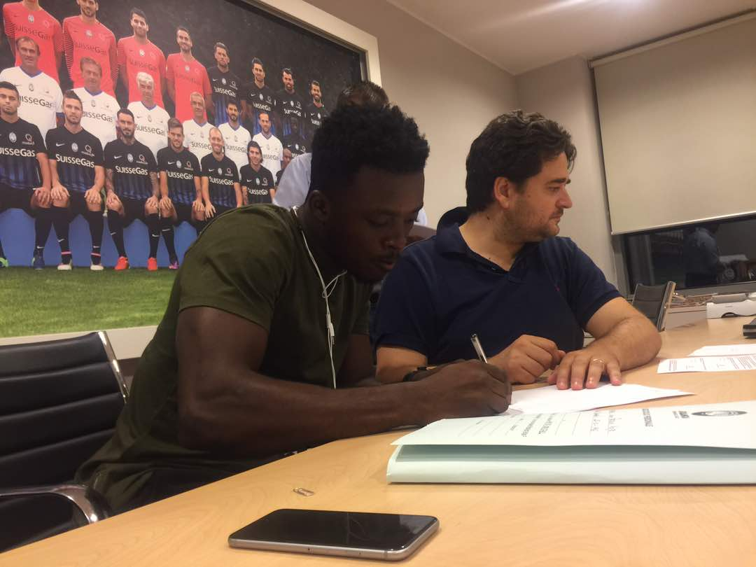 EXCLUSIVE: Atalanta loan defender Patrick Asmah to Serie B side Salernitana
