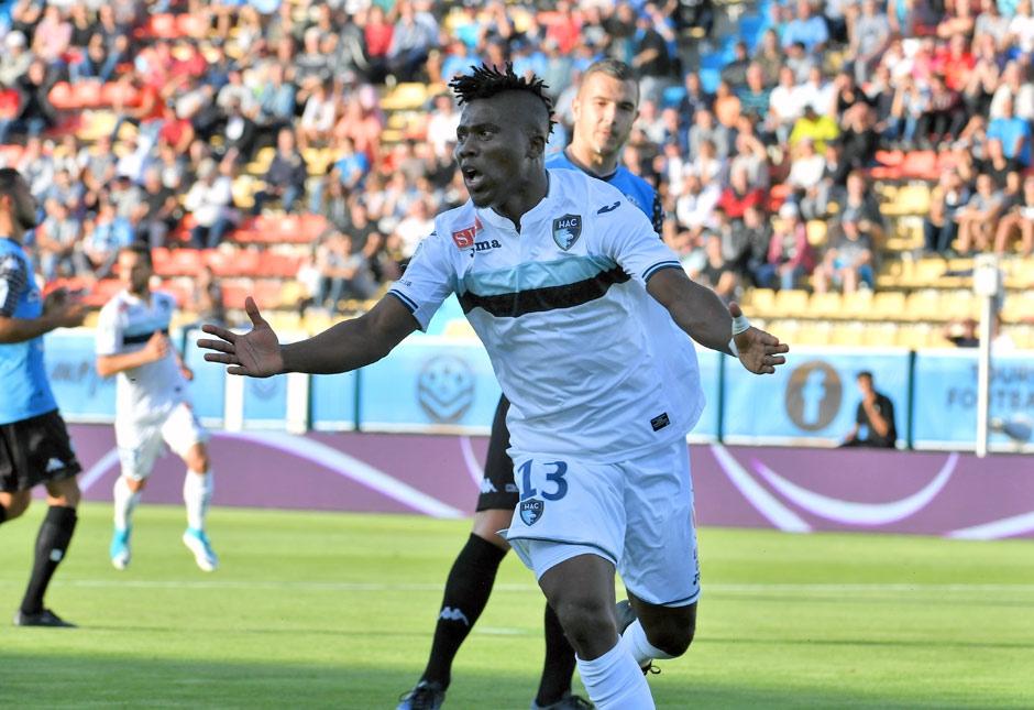 Ghana striker Ebenezer Assifuah named in Ligue 2 Team of
