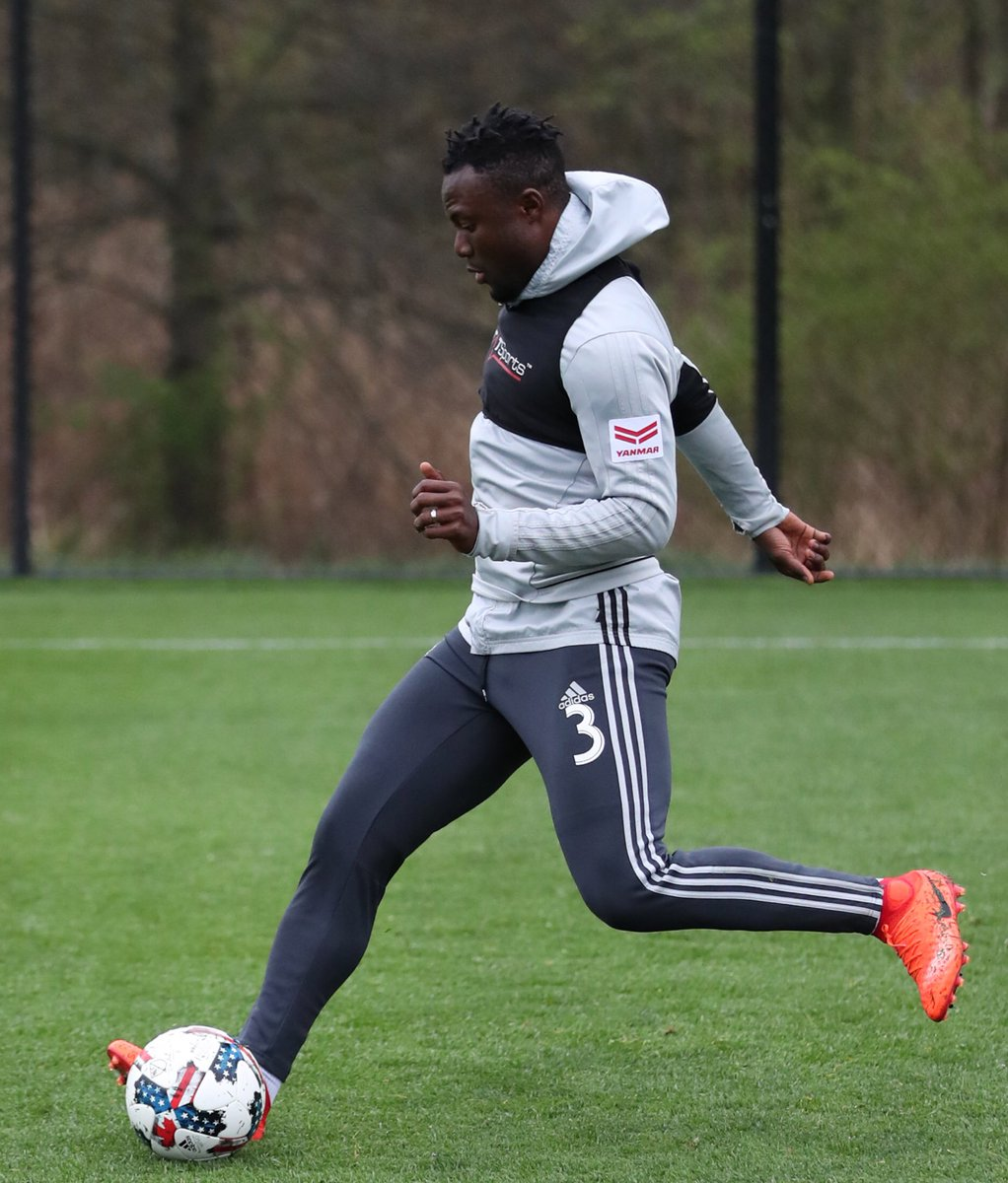 Ghana defender Gideon Baah making giant strides towards recovery after long term injury