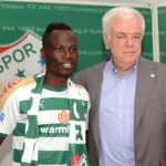 PHOTOS: Turkish side Bursaspor unveil new signing Emmanuel Agyemang-Badu