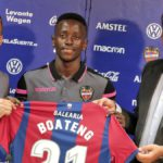 Ghanaian forward Emmanuel Boateng expresses desire to lead the line for UD Levante