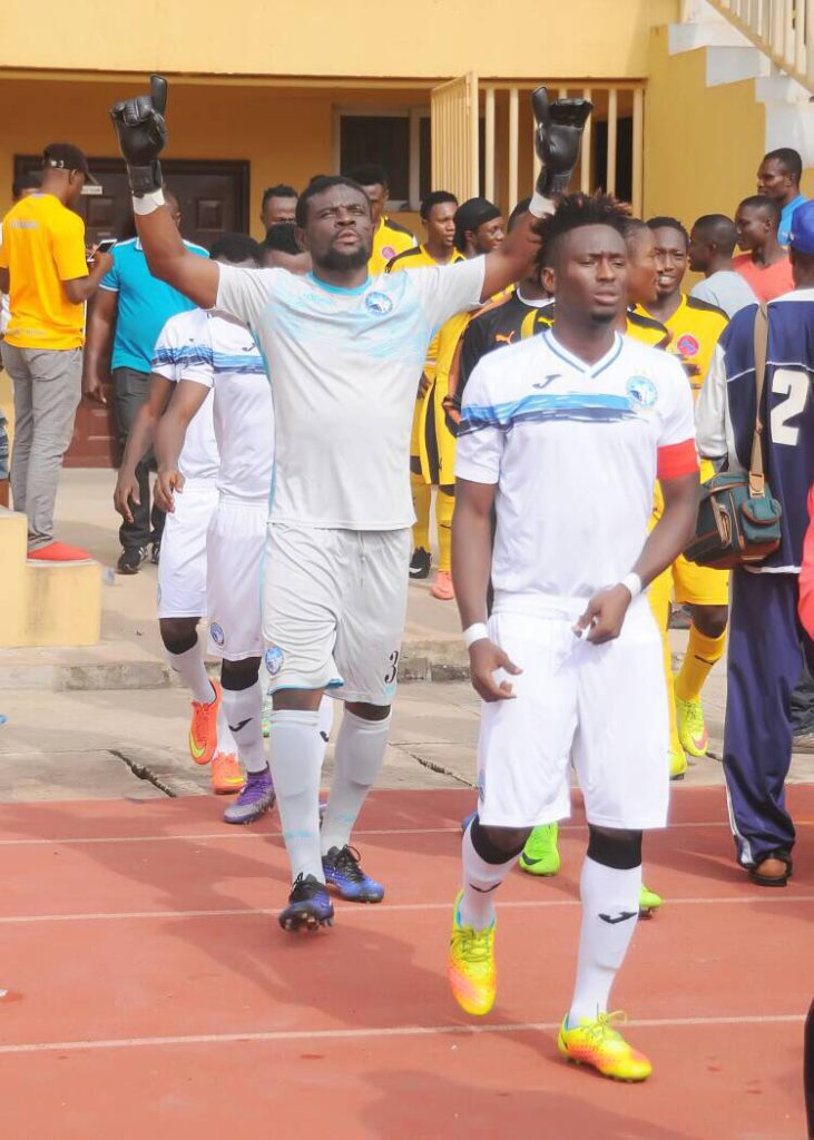 Fatau Dauda: 'It was tough to turn Enyimba down'