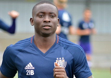 Ghanaian youngster Dauda Mohhamed knocking on Anderlecht first team door