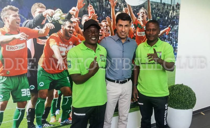 PHOTOS: Dreams FC coaches Karim Zito and Winfred Dormon start training programme at Greuther Furth